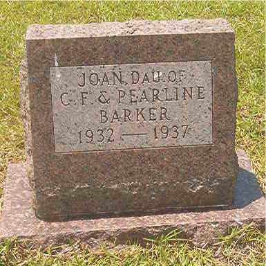 BARKER, JOAN - Calhoun County, Arkansas | JOAN BARKER - Arkansas Gravestone Photos