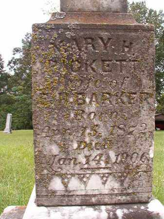 PICKETT BARKER, MARY H - Calhoun County, Arkansas | MARY H PICKETT BARKER - Arkansas Gravestone Photos