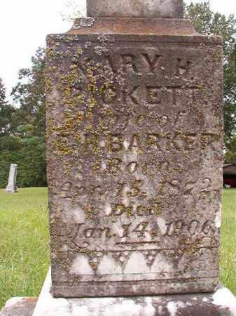 BARKER, MARY H - Calhoun County, Arkansas | MARY H BARKER - Arkansas Gravestone Photos
