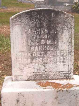 BARNES, AGNES J - Calhoun County, Arkansas | AGNES J BARNES - Arkansas Gravestone Photos
