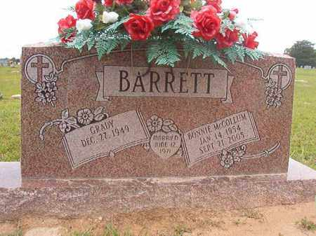 BARRETT, BONNIE - Calhoun County, Arkansas | BONNIE BARRETT - Arkansas Gravestone Photos
