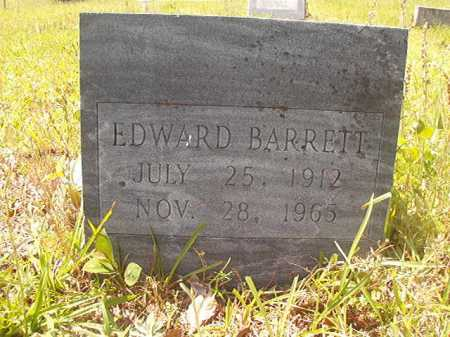 BARRETT, EDWARD - Calhoun County, Arkansas | EDWARD BARRETT - Arkansas Gravestone Photos