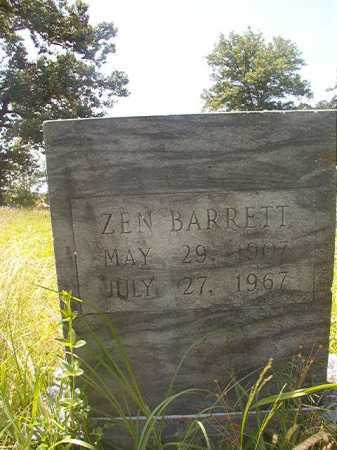 BARRETT, ZEN - Calhoun County, Arkansas | ZEN BARRETT - Arkansas Gravestone Photos