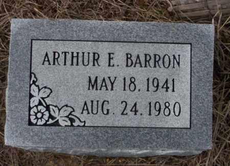 BARRON, ARTHUR E - Calhoun County, Arkansas | ARTHUR E BARRON - Arkansas Gravestone Photos
