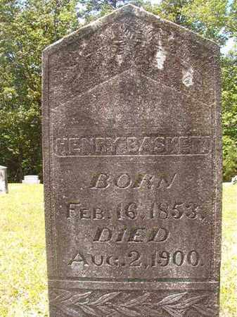 BASKETT, HENRY - Calhoun County, Arkansas | HENRY BASKETT - Arkansas Gravestone Photos