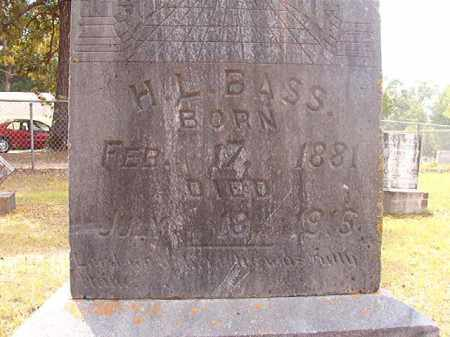 BASS, H L - Calhoun County, Arkansas | H L BASS - Arkansas Gravestone Photos