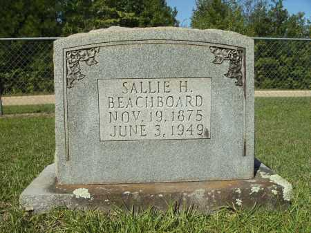 BEACHBOARD, SALLIE H - Calhoun County, Arkansas | SALLIE H BEACHBOARD - Arkansas Gravestone Photos