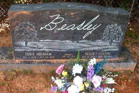 COSTON BEASLEY, NELLIE - Calhoun County, Arkansas | NELLIE COSTON BEASLEY - Arkansas Gravestone Photos