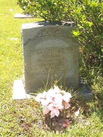 BEASLEY, SARAH ELISABETH - Calhoun County, Arkansas | SARAH ELISABETH BEASLEY - Arkansas Gravestone Photos
