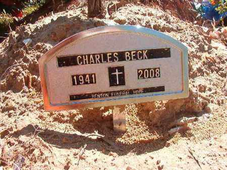 BECK, CHARLES - Calhoun County, Arkansas | CHARLES BECK - Arkansas Gravestone Photos