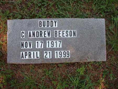 "BEESON, C ANDREW ""BUDDY"" - Calhoun County, Arkansas | C ANDREW ""BUDDY"" BEESON - Arkansas Gravestone Photos"