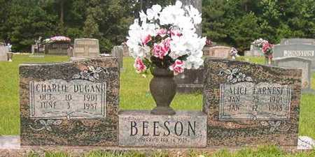 EARNEST BEESON, ALICE - Calhoun County, Arkansas | ALICE EARNEST BEESON - Arkansas Gravestone Photos