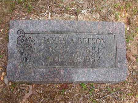 BEESON, JAMES A - Calhoun County, Arkansas | JAMES A BEESON - Arkansas Gravestone Photos