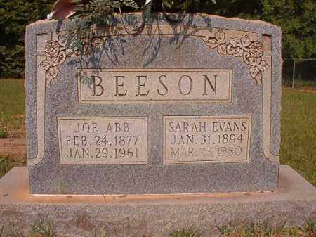 BEESON, SARAH - Calhoun County, Arkansas | SARAH BEESON - Arkansas Gravestone Photos
