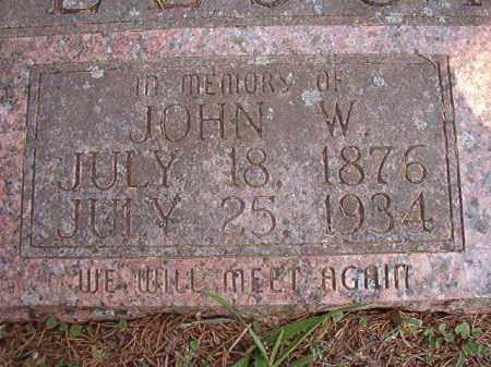 BEESON, JOHN W - Calhoun County, Arkansas | JOHN W BEESON - Arkansas Gravestone Photos