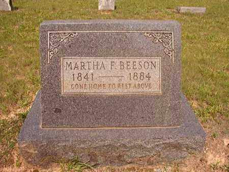 BEESON, MARTHA F - Calhoun County, Arkansas | MARTHA F BEESON - Arkansas Gravestone Photos