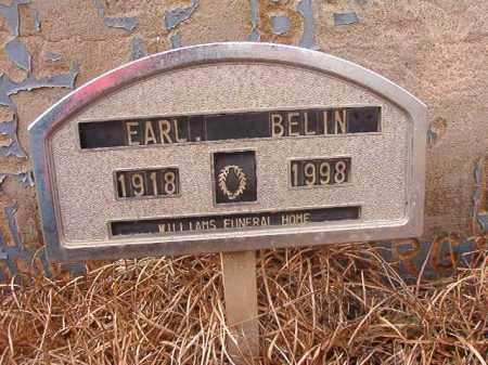 BELIN, EARL - Calhoun County, Arkansas | EARL BELIN - Arkansas Gravestone Photos