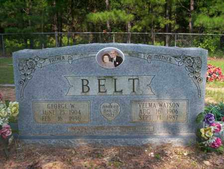 BELT, GEORGE W - Calhoun County, Arkansas | GEORGE W BELT - Arkansas Gravestone Photos