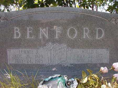 BENFORD, LUMMIE J - Calhoun County, Arkansas | LUMMIE J BENFORD - Arkansas Gravestone Photos
