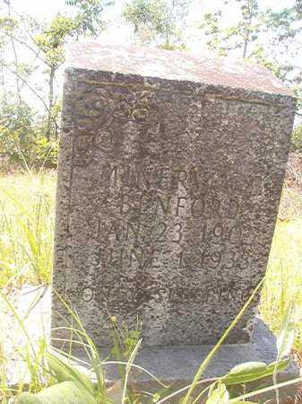BENFORD, MINERVIA B - Calhoun County, Arkansas | MINERVIA B BENFORD - Arkansas Gravestone Photos