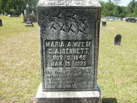 BENNETT, MARIA A - Calhoun County, Arkansas | MARIA A BENNETT - Arkansas Gravestone Photos