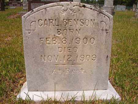 BENSON, CARL - Calhoun County, Arkansas | CARL BENSON - Arkansas Gravestone Photos