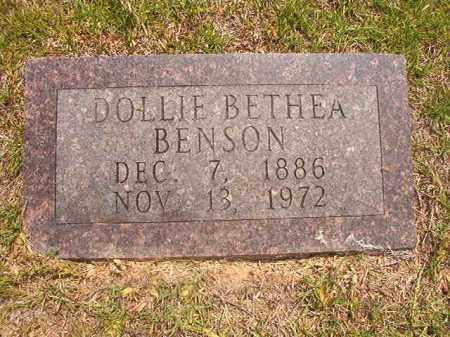BENSON, DOLLIE - Calhoun County, Arkansas | DOLLIE BENSON - Arkansas Gravestone Photos