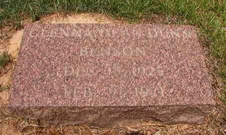 BENSON, GLENNA DEAN - Calhoun County, Arkansas | GLENNA DEAN BENSON - Arkansas Gravestone Photos