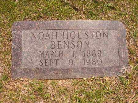 BENSON, NOAH HOUSTON - Calhoun County, Arkansas | NOAH HOUSTON BENSON - Arkansas Gravestone Photos