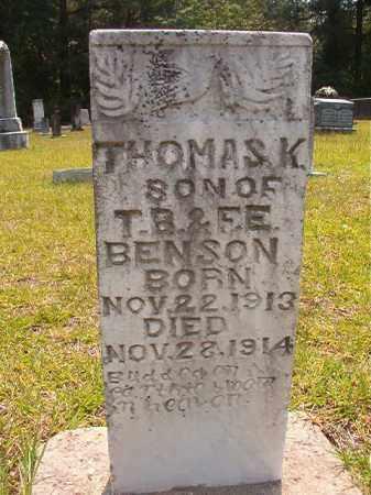 BENSON, THOMAS K - Calhoun County, Arkansas | THOMAS K BENSON - Arkansas Gravestone Photos