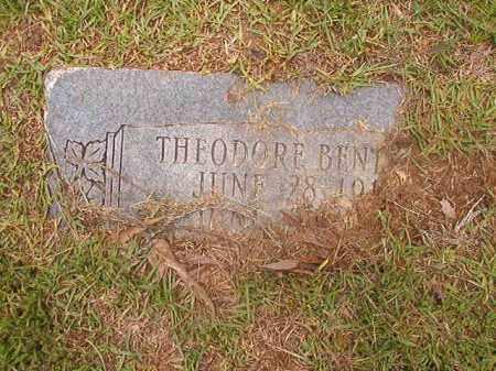 BENTLEY, THEODORE - Calhoun County, Arkansas | THEODORE BENTLEY - Arkansas Gravestone Photos