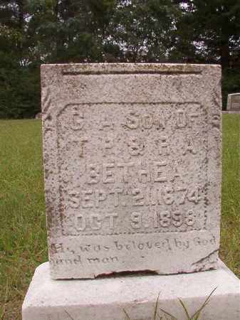 BETHEA, G A - Calhoun County, Arkansas | G A BETHEA - Arkansas Gravestone Photos
