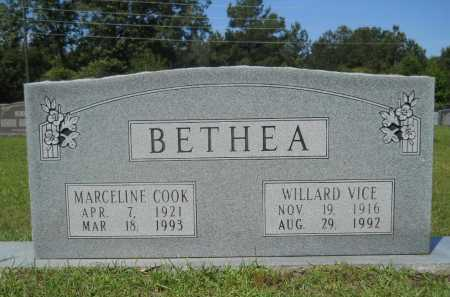 BETHEA, MARCELINE - Calhoun County, Arkansas | MARCELINE BETHEA - Arkansas Gravestone Photos