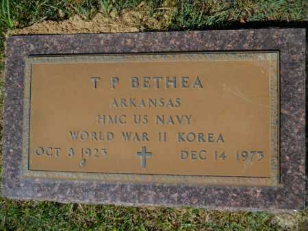 BETHEA (VETERAN 2 WARS), T P - Calhoun County, Arkansas | T P BETHEA (VETERAN 2 WARS) - Arkansas Gravestone Photos