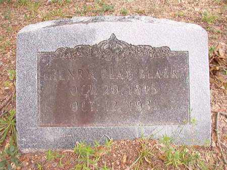 BLACK, HENRY CLAY - Calhoun County, Arkansas | HENRY CLAY BLACK - Arkansas Gravestone Photos