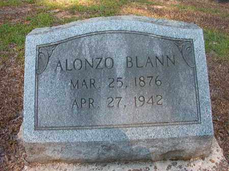 BLANN, ALONZO - Calhoun County, Arkansas | ALONZO BLANN - Arkansas Gravestone Photos