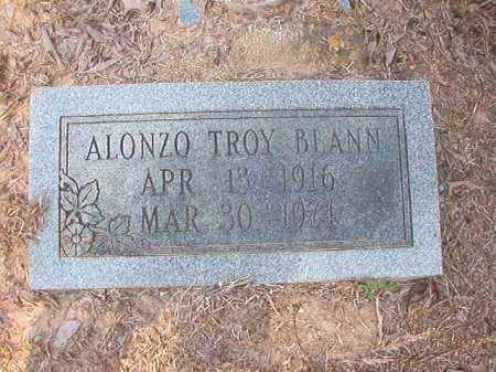 BLANN, ALONZO TROY - Calhoun County, Arkansas | ALONZO TROY BLANN - Arkansas Gravestone Photos