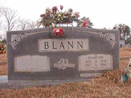BLANN, FRANCINE - Calhoun County, Arkansas | FRANCINE BLANN - Arkansas Gravestone Photos