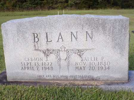 BLANN, SALLIE P - Calhoun County, Arkansas | SALLIE P BLANN - Arkansas Gravestone Photos