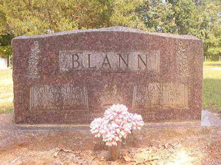 BLANN, GRADY LEE - Calhoun County, Arkansas | GRADY LEE BLANN - Arkansas Gravestone Photos