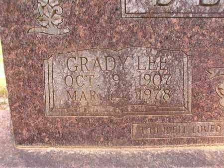 BLANN, GRADY LEE (CLOSEUP) - Calhoun County, Arkansas | GRADY LEE (CLOSEUP) BLANN - Arkansas Gravestone Photos