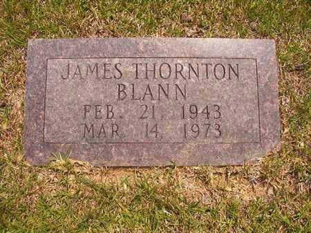 BLANN, JAMES THORNTON - Calhoun County, Arkansas | JAMES THORNTON BLANN - Arkansas Gravestone Photos