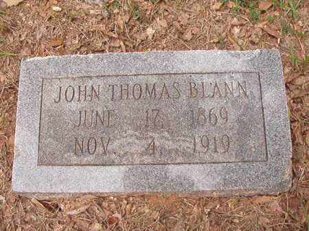 BLANN, JOHN THOMAS - Calhoun County, Arkansas | JOHN THOMAS BLANN - Arkansas Gravestone Photos