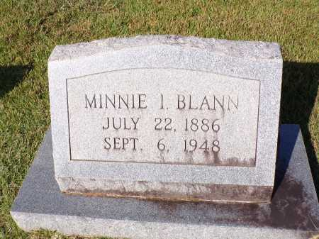 BLANN, MINNIE I - Calhoun County, Arkansas | MINNIE I BLANN - Arkansas Gravestone Photos