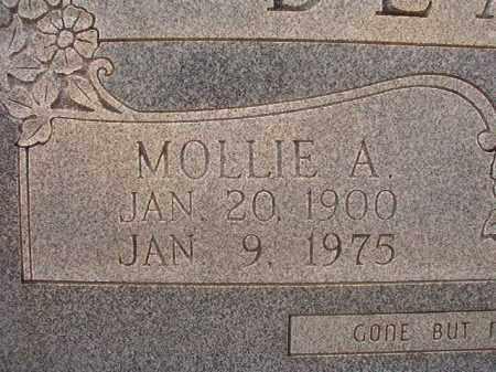 BLANN, MOLLIE A (CLOSEUP) - Calhoun County, Arkansas | MOLLIE A (CLOSEUP) BLANN - Arkansas Gravestone Photos