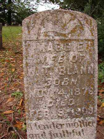 BLANN, MAGGIE - Calhoun County, Arkansas | MAGGIE BLANN - Arkansas Gravestone Photos