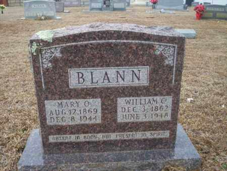 BLANN, WILLIAM C - Calhoun County, Arkansas | WILLIAM C BLANN - Arkansas Gravestone Photos