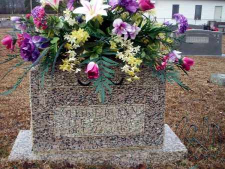 BLANN, OLLIE E - Calhoun County, Arkansas | OLLIE E BLANN - Arkansas Gravestone Photos