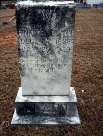 BLANN, PINK H - Calhoun County, Arkansas | PINK H BLANN - Arkansas Gravestone Photos