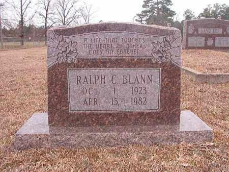 BLANN, RALPH C - Calhoun County, Arkansas | RALPH C BLANN - Arkansas Gravestone Photos